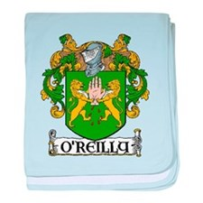 O'Reilly Coat of Arms baby blanket