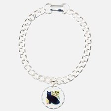 Stray Black Kitty Bracelet