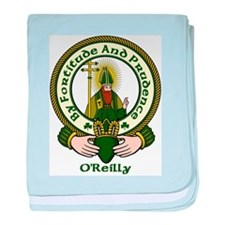 O'Reilly Clan Motto baby blanket