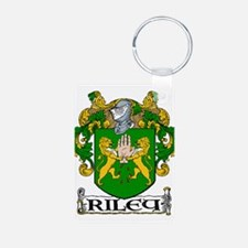 Riley Coat of Arms Aluminum Photo Keychain