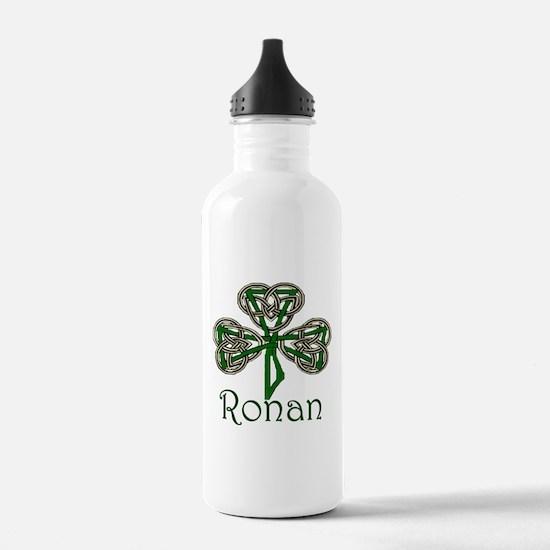Ronan Shamrock Water Bottle