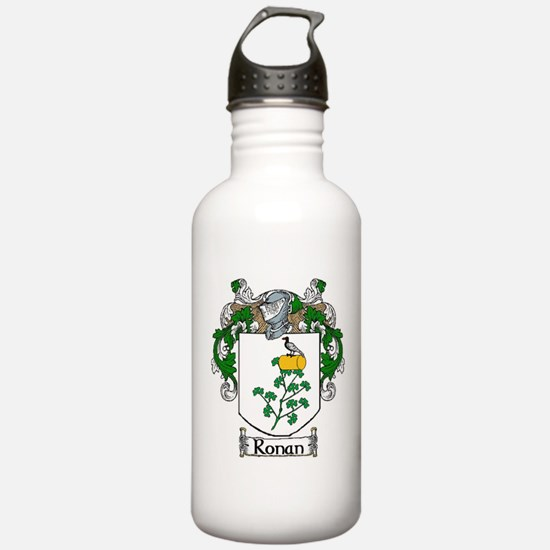 Ronan Coat of Arms Water Bottle