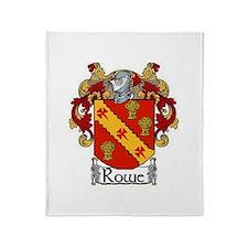 Rowe Coat of Arms Throw Blanket