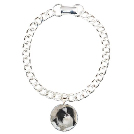 Deluxe Japanese Chin Darling Charm Bracelet, One C