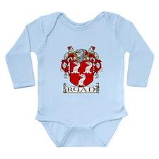 Ryan Coat of Arms Long Sleeve Infant Bodysuit