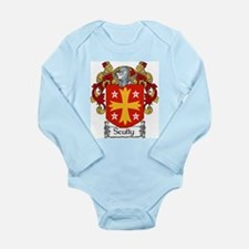 Scully Coat of Arms Long Sleeve Infant Bodysuit