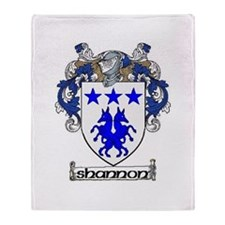 Shannon Coat of Arms Throw Blanket