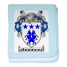 Shannon Coat of Arms baby blanket