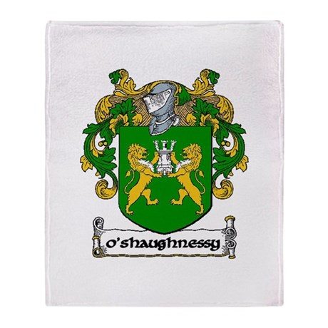 O'Shaughnessy Arms Throw Blanket