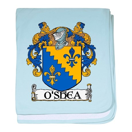 O'Shea Coat of Arms baby blanket