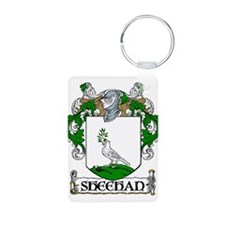 Sheehan Coat of Arms Aluminum Photo Keychain