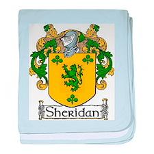 Sheridan Coat of Arms baby blanket