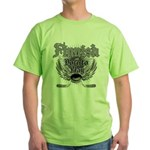 Born To Play (Finnish) Green T-Shirt