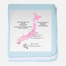 Japan 3/11/2011 baby blanket