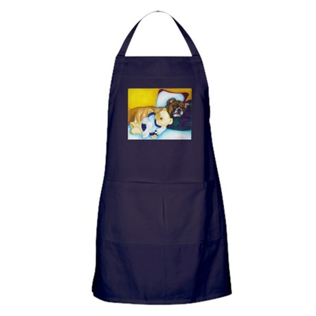 Boxer and Teddy Apron (dark)