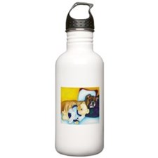 Boxer and Teddy Water Bottle