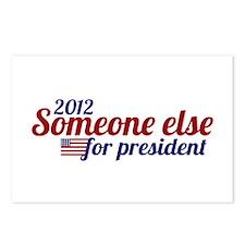 Someone Else for President 2012 Postcards (Package