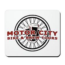 Motor City Brew Tours Logo Mousepad