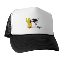 3D United We Stand Trucker Hat