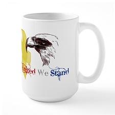 3D United We Stand Mug