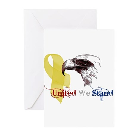3D United We Stand Greeting Cards (Pk of 10)