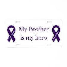 Brother CF Hero Aluminum License Plate