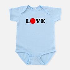 Show love for Japan Infant Bodysuit