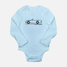 Sunbeam Alpine V Long Sleeve Infant Bodysuit
