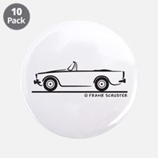 "Sunbeam Alpine V 3.5"" Button (10 pack)"