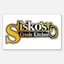Sisko's Creole Kitchen Star Trek Decal