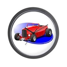 Classic Hot Rod Wall Clock