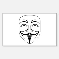Cute Guy fawkes Decal