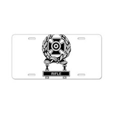 Army Rifle Expert Badge Aluminum License Plate