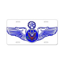 Chief Enlisted Crew Badge Aluminum License Plate