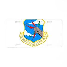 USAF SAC Aluminum License Plate