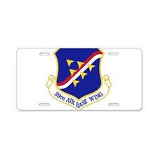 39th Air Base Wing Aluminum License Plate