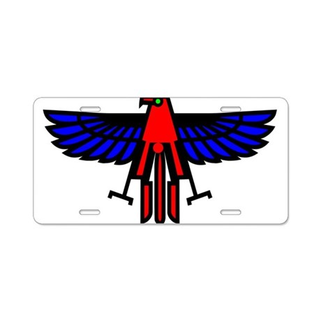 Indian Eagle Totem Aluminum License Plate