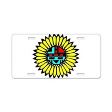 Indian Shield Aluminum License Plate