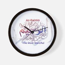 Funny Islamic art Wall Clock