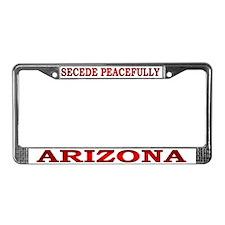Arizona-3 License Plate Frame