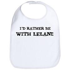 With Leland Bib