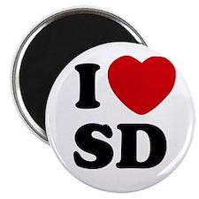 I Love San Diego SD Magnet