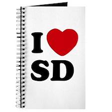 I Love San Diego Notebook Journal
