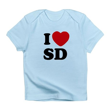 I Love San Diego Infant T-Shirt
