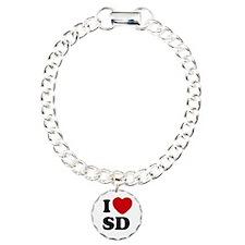I Love San Diego Bracelet