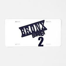 BB2 Aluminum License Plate