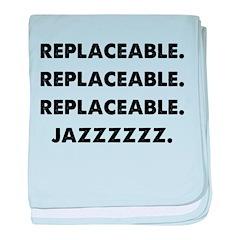 Jazz baby blanket