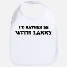 With Larry Bib