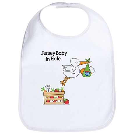 New Jersey Baby in Exile Bib