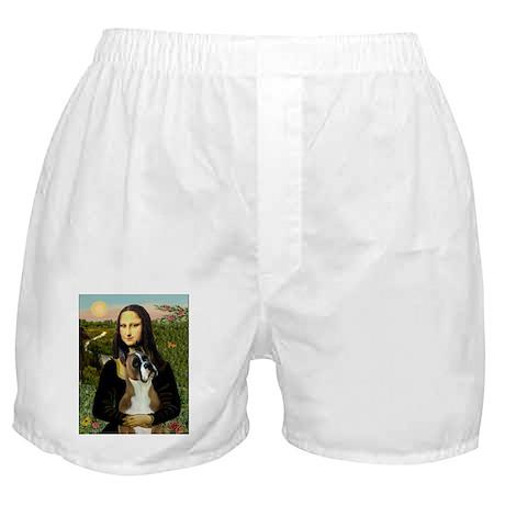Mona & her Boxer Boxer Shorts